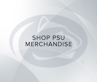 Background picture of school logo. Click to shop PSU merchandise.
